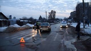 У Житомирі на пішохідному переході біля ліцею автомобіль збив дівчинку - Житомир.info