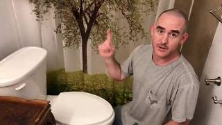 How to fix replace a toilet handle / Flush lever
