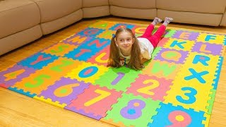 Alicia Is Having Fun Looking For Lost English Alphabet Letters | ABC Song By Fun With Alicia
