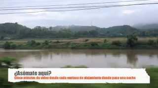 preview picture of video 'Asómate aquí: llegando a Lao Cai en el King Express (Vietnam)'