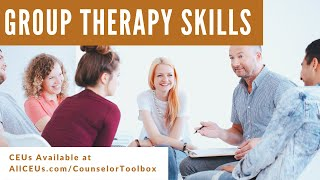 Group Therapy Leadership Skills and Common Errors