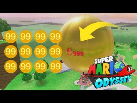 2154 Moons in Mario Odyssey, The REAL Limit! (Re-dubbed