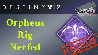 Orpheus Rig NERFED! Let's Make Orpheus Rig Great Again