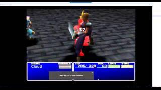 Final Fantasy 7 - Cheat Engine to Gameshark Conversion