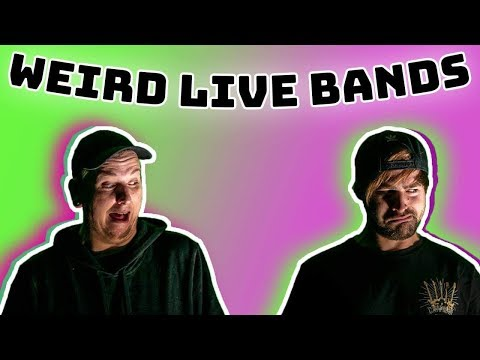 The Weirdest Live Bands You'll EVER See!!!