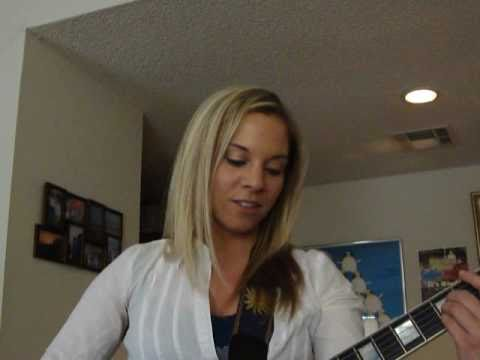 "Kristi Salas: Rehearsing an original song, ""Admit It""  for a Kansas City show"