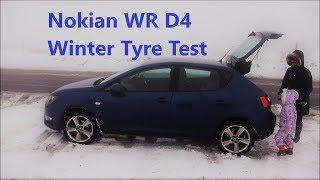 Nokian WR D4 Winter Tyre Test (UK)