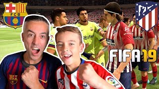 ATLETICO MADRID VS FC BARCELONA LA LIGA - FIFA 19