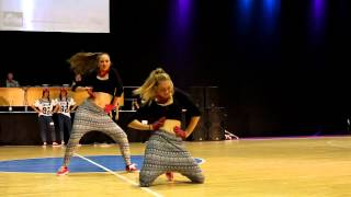 Kristina Kudlickova and Barbora Sulekova - Hip Hop Duo Adults - World Hip Hop Cup 2014