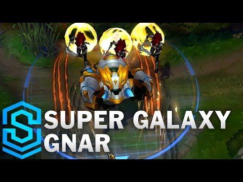 Super Galaxy Gnar Skin Spotlight - League of Legends