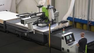 Centrum Obróbcze CNC do nestingu z systemem podawczo-odbiorczym