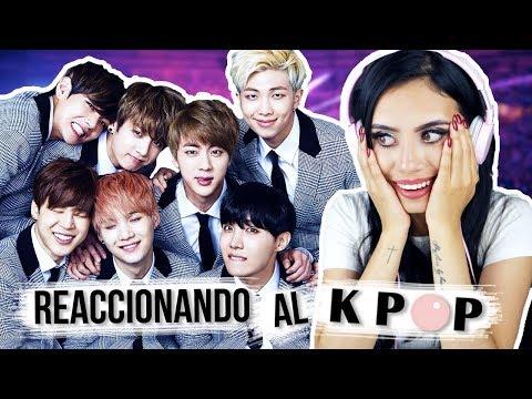 REACCIONANDO al K-POP por PRIMERA VEZ | Paulettee