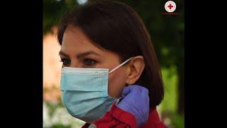 Anche la Croce Rossa Italiana partecipa alla challenge #WearAMask dell'OMS