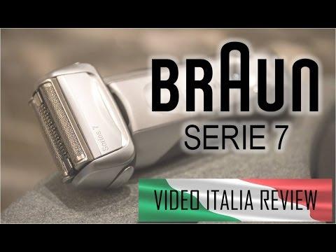 BRAUN SERIE 7 (799CC) - VIDEO ITALIA REVIEW (recensione in italiano)