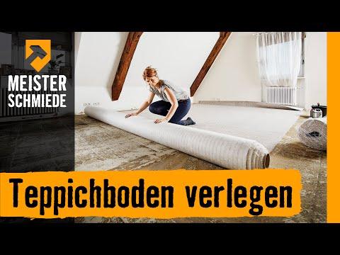 Teppichboden verlegen | HORNBACH Meisterschmiede