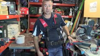 Milwaukee Contractor Work Belt with Suspension Rig