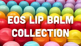 SATISFYING EOS LIP BALM COLLECTION! *UPDATED*