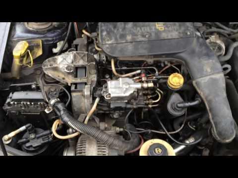 Фото к видео: Рено меган 1.9 турбо дизель настройка после года простоя