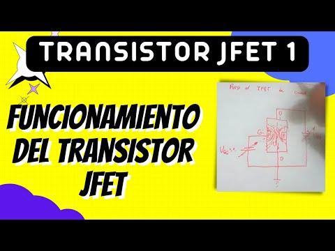 Transistor JFET 1 Funcionamiento y características básicas