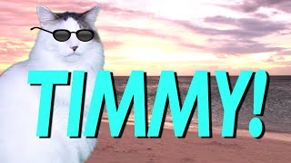 HAPPY BIRTHDAY TIMMY! - EPIC CAT Happy Birthday Song