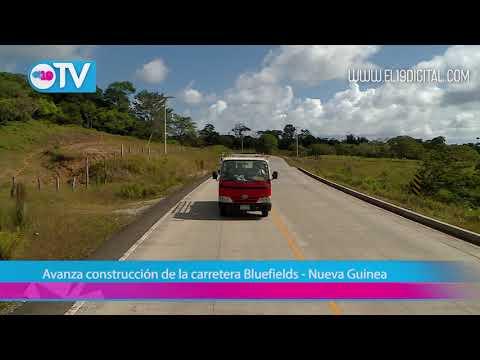 Avanza construcción de la carretera Bluefields - Nueva Guinea