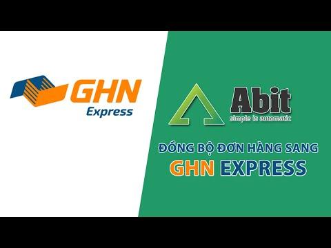 Cấu hình kết nối vận chuyển giữa Abitstore.vn và GHN Express