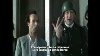 La Vida es Bella (La Vita è Bella) - Guido traduce las reglas (español)