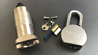 [607] Core Puller vs. American Series 700 Padlock