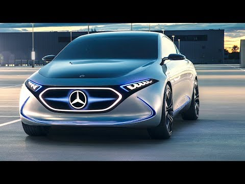 Mercedes EQA World Premiere Tesla 3 Vs Mercedes Electric Car Frankfurt 2017  CARJAM TV HD