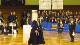 H26全国高校剣道選抜大会男子決勝T16仙台育英対九学先次中副大