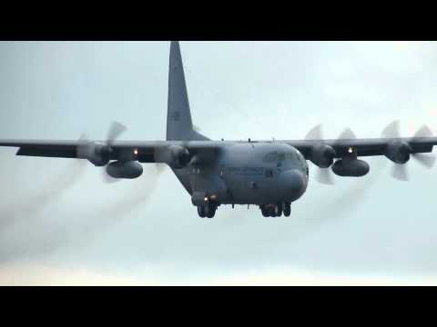 Volkel Airbase 09-05-2012; Lockheed C130 KLu G-988 T&G
