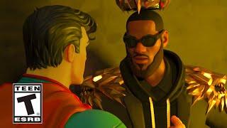 Fortnite Lebron James meets Superman Trailer