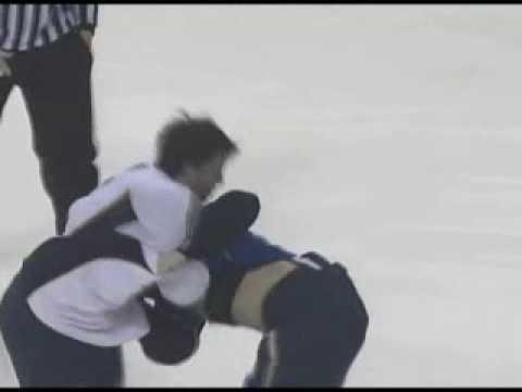 Shea Weber vs Mike Glumac