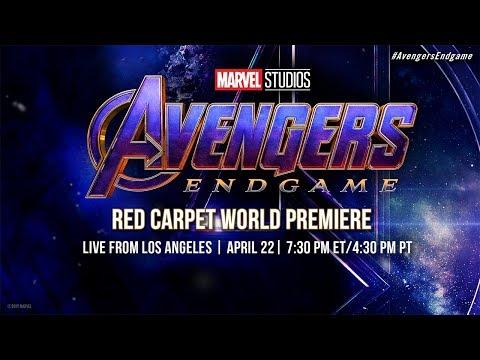 Marvel Studios' Avengers: Endgame   LIVE Red Carpet World Premiere (видео)