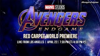 """Note: We have disabled chat for this stream to prevent spoilers. Comments are enabled, but please Don't Spoil The Endgame for others.  Whatever it takes. The grand conclusion to 22 films, Marvel Studios' """"Avengers: Endgame"""" begins live on the Red Carpet in Hollywood. Don't miss exclusive interviews with stars and creators of the most epic event in Marvel Cinematic Universe history!  ► Subscribe to Marvel: http://bit.ly/WeO3YJ  Follow Marvel on Twitter: https://twitter.com/marvel Like Marvel on FaceBook: https://www.facebook.com/Marvel  For even more news, stay tuned to: Tumblr: http://marvelentertainment.tumblr.com/ Instagram: https://www.instagram.com/marvel Google+: https://plus.google.com/+marvel Pinterest: http://pinterest.com/marvelofficial"""