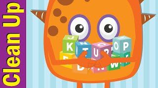 Clean Up Song | Clean Up Song for Kindergarten | Fun Kids English