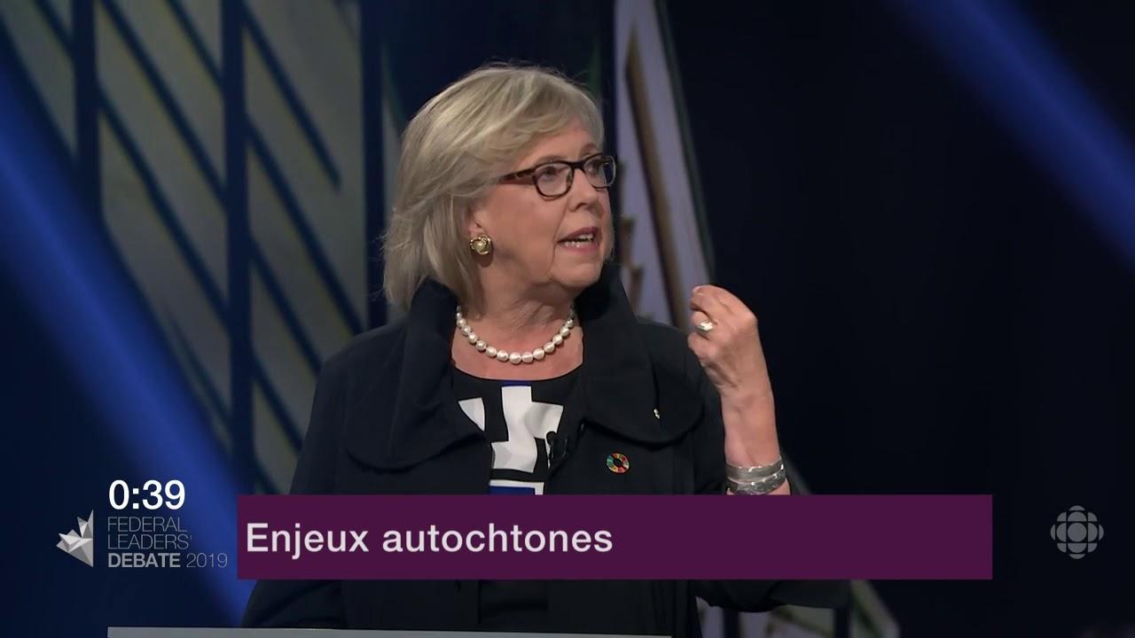 Andrew Scheer et Elizabeth May sur le consentement des Autochtones aux nouveaux oléoducs