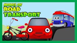 Modes of Transportation for Children - Road Transport for Kids | Kids Hut
