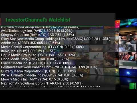 InvestorChannel's Media Watchlist Update for Thursday, September, 16, 2021, 16:00 EST