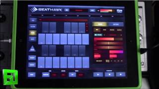 BeatHawk  Review sampler sequencer for ipad by UVI