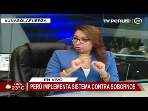 Perú implementa sistema contra sobornos