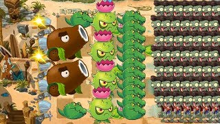 Pvz 2 - Guacodile, Homing Thistle and Parsnip vs all Zombies
