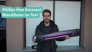 Draußen angeschaut: Philips Hue Amarant Outdoor Wandfluter im Test