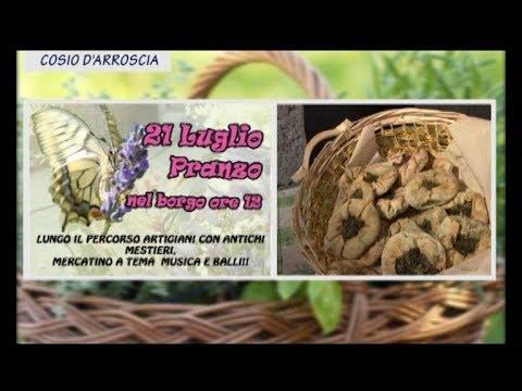 DOMENICA 21 LUGLIO TORNA A COSIO LA TRADIZIONALE FESTA DELLE ERBE