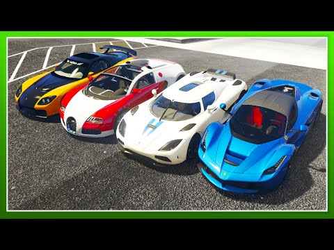 ULTIMATE MODDED CAR COLLECTION 1 ( Real Gta 5 Super Car Mods) - GTA 5 CAR MODS