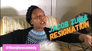 Jacob Zuma resignation