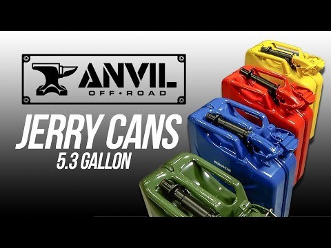 Anvil Offroad Jerry Cans