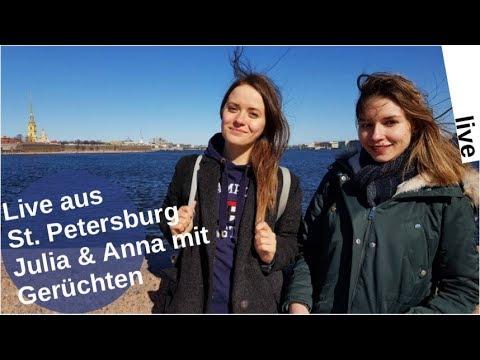 Live-Chat aus St. Petersburg; Gerüchte um  Julia und Anna [LIVE]