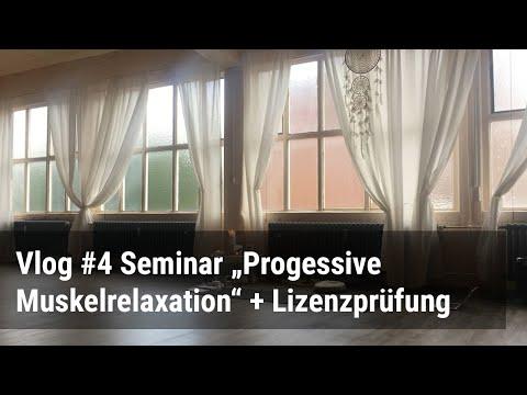 Vlog: Präsenzseminar Progressive Muskelrelaxation in Ratingen