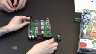Toy Brief 44 : Monster 4 LEGO Game Set 3837 Opening Building Review Play